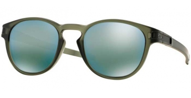 Sunglasses - Oakley - LATCH OO9265 - 9265-05 MATTE OLIVE INK // EMERALD IRIDIUM