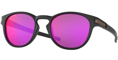 Sunglasses - Oakley - LATCH OO9265 - 9265-49 MATTE BLACK // PRIZM ROAD