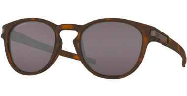 Sunglasses - Oakley - LATCH OO9265 - 9265-50 MATTE BROWN TORTOISE // PRIZM GREY