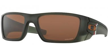 Sunglasses - Oakley - FUEL CELL OO9096 - 9096-J7 MATTE OLIVE INK // PRIZM TUNGSTEN