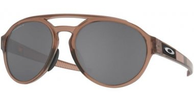 Sunglasses - Oakley - FORAGER OO9421 - 9421-09 MATTE BROWN SMOKE // PRIZM BLACK POLARIZED