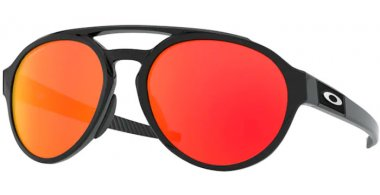 Sunglasses - Oakley - FORAGER OO9421 - 9421-13 POLISHED BLACK // PRIZM RUBY