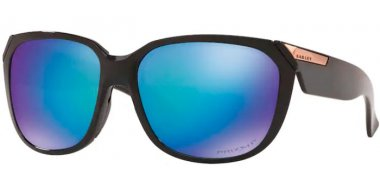 Sunglasses - Oakley - REV UP OO9432 - 9432-11 POLISHED BLACK // PRIZM SAPPHIRE POLARIZED