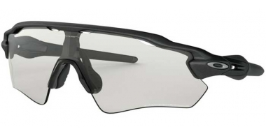 Sunglasses - Oakley - RADAR EV PATH OO9208 - 9208-13 STEEL GREY // CLEAR TO BLACK PHOTOCHROMIC