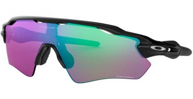 Sunglasses - Oakley - RADAR EV PATH OO9208 - 9208-44 POLISHED BLACK // PRIZM GOLF