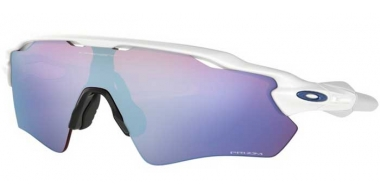 Sunglasses - Oakley - RADAR EV PATH OO9208 - 9208-47 POLISHED WHITE // PRIZM SNOW