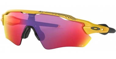 Sunglasses - Oakley - RADAR EV PATH OO9208 - 9208-69 YELLOW // PRIZM ROAD