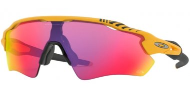 Sunglasses - Oakley - RADAR EV PATH OO9208 - 9208-76 MATTE YELLOW // PRIZM ROAD