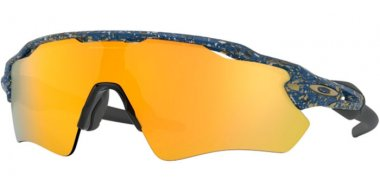 Sunglasses - Oakley - RADAR EV PATH OO9208 - 9208-78 SPLATTER POSEIDON // 24K IRIDIUM