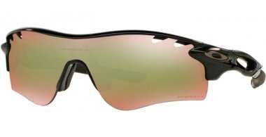 Sunglasses - Oakley - RADARLOCK PATH OO9181 - 9181-53 POLISHED BLACK // PRIZM SHALLOW WATER POLARIZED