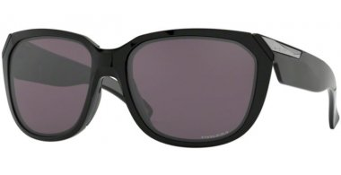 Sunglasses - Oakley - REV UP OO9432 - 9432-01 POLISHED BLACK // PRIZM GREY