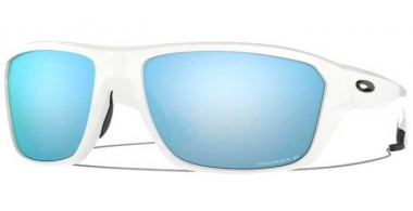 Sunglasses - Oakley - SPLIT SHOT OO9416 - 9416-07 POLISHED WHITE // PRIZM DEEP H2O POLARIZED