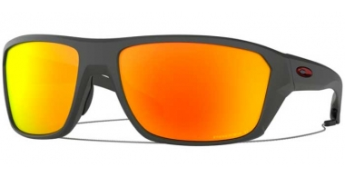 Sunglasses - Oakley - SPLIT SHOT OO9416 - 9416-08 MATTE HEATHER GREY // PRIZM RUBY POLARIZED