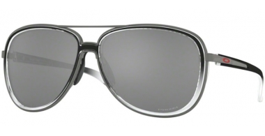 Sunglasses - Oakley - SPLIT TIME OO4129 - 4129-11 BLACK CLEAR FADE GUNMETAL // PRIZM BLACK POLARIZED