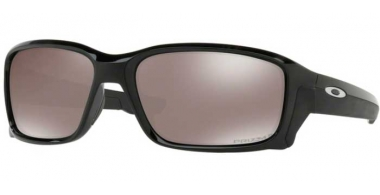 Sunglasses - Oakley - STRAIGHTLINK OO9331 - 9331-16 POLISHED BLACK // PRIZM BLACK POLARIZED
