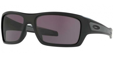 Sunglasses - Oakley - TURBINE OO9263 - 9263-01 MATTE BLACK // WARM GREY