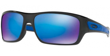 Sunglasses - Oakley - TURBINE OO9263 - 9263-05 BLACK INK // SHAPPIRE IRIDIUM