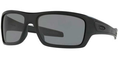 Sunglasses - Oakley - TURBINE OO9263 - 9263-07 MATTE BLACK // GREY POLARIZED