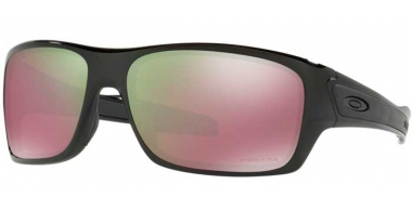 Sunglasses - Oakley - TURBINE OO9263 - 9263-13 POLISHED BLACK // PRIZM SHALLOW H20 POLARIZED
