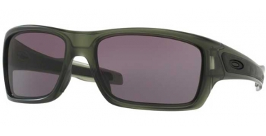 Sunglasses - Oakley - TURBINE OO9263 - 9263-19 MATTE OLIVE INK // WARM GREY