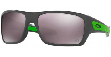 Sunglasses - Oakley - TURBINE OO9263 - 9263-27 MATTE DARK GREY // PRIZM DAILY POLARIZED