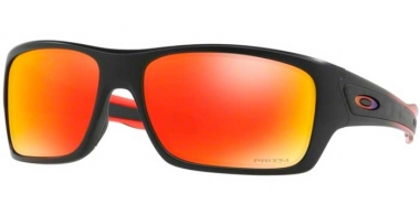 Sunglasses - Oakley - TURBINE OO9263 - 9263-37 BLACK RUBY FADE // PRIZM RUBY IRIDIUM