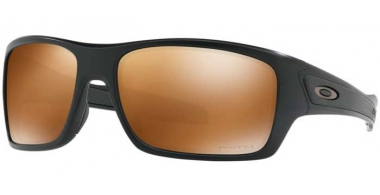 Sunglasses - Oakley - TURBINE OO9263 - 9263-40 MATTE BLACK // PRIZM TUNGSTEN POLARIZED