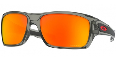Sunglasses - Oakley - TURBINE OO9263 - 9263-57 GREY INK // PRIZM RUBY POLARIZED