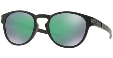 Sunglasses - Oakley - LATCH OO9265 - 9265-28 MATTE BLACK // PRIZM JADE