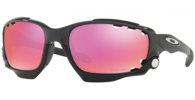 Sunglasses - Oakley - RACING JACKET OO9171 - 9171-38 CARBON // PRIZM TRAIL