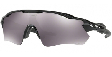 Sunglasses - Oakley - RADAR EV PATH OO9208 - 9208-52 POLISHED BLACK // PRIZM BLACK