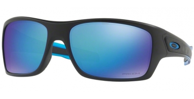 Gafas de Sol - Oakley - TURBINE OO9263 - 9263-36 POLISHED BLACK // PRIZM SAPPHIRE POLARIZED