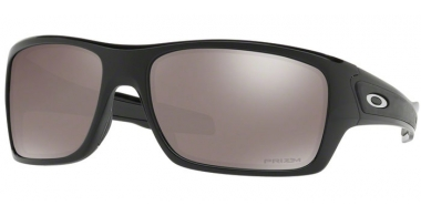 Sunglasses - Oakley - TURBINE OO9263 - 9263-41 POLISHED BLACK // PRIZM BLACK IRIDIUM POLARIZED