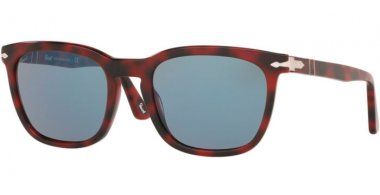 Sunglasses - Persol - PO3193S - 110056 RED GRID // LIGHT BLUE