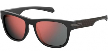 Gafas de Sol - Polaroid - PLD 2065/S - O6W (OZ) MATTE DARK GREY // RED MIRROR POLARIZED