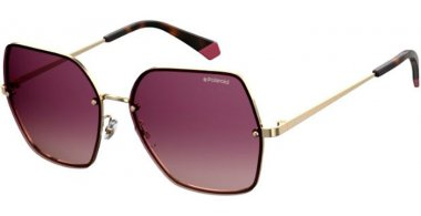 Sunglasses - Polaroid - PLD 4091/S - S9E (JR) GOLD VIOLET // BURGUNDY GRADIENT POLARIZED