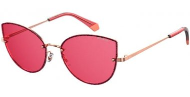 Sunglasses - Polaroid - PLD 4092/S - EYR (0F) GOLD PINK // PINK POLARIZED