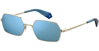 Sunglasses - Polaroid - PLD 6068/S - LKS (XN) GOLD BLUE // PLATINIUM POLARIZED