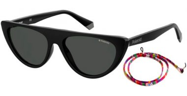 Sunglasses - Polaroid - PLD 6108/S - 807 (M9) BLACK // GREY POLARIZED