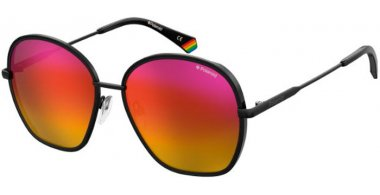 Sunglasses - Polaroid - PLD 6113/S - 92Y (DL) RED PINK // RED RAINBOW POLARIZED