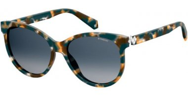 Sunglasses - Polaroid - PLD 4079/S/X - CVT (Z7) HAVANA MULTICOLOR // BLUE GRADIENT POLARIZED