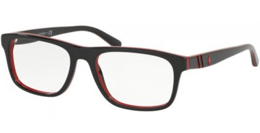 Frames - POLO Ralph Lauren - PH2211 - 5668 BLACK RED BLACK