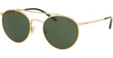 Sunglasses - POLO Ralph Lauren - PH3114 - 900471 GOLD // DARK GREEN