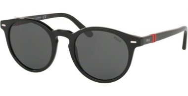 Sunglasses - POLO Ralph Lauren - PH4151 - 500187 BLACK // DARK GREY
