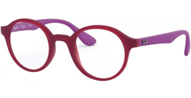 Frames Junior - Ray-Ban® Junior Collection - RY1561 - 3782 MATTE TRANSPARENT FUXIA