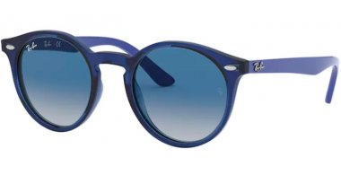 Frames Junior - Ray-Ban® Junior Collection - RJ9064S - 70624L TRANSPARENT BLUE // GREY DARK BLUE GRADIENT
