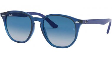 Frames Junior - Ray-Ban® Junior Collection - RJ9070S - 70624L TRANSPARENT BLUE // GREY DARK BLUE GRADIENT
