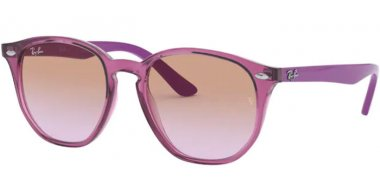 Frames Junior - Ray-Ban® Junior Collection - RJ9070S - 706468 TRANSPARENT FUCHSIA // VIOLET BROWN GRADIENT
