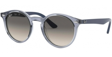Frames Junior - Ray-Ban® Junior Collection - RJ9064S - 705011 TRASPARENT BLUE // GREY GRADIENT DARK GREY