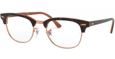 Frames - Ray-Ban® - RX5154 CLUBMASTER - 5884 TOP HAVANA ON BROWN